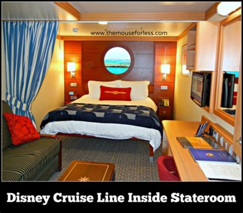 disney cruise line staterooms cabin descriptions