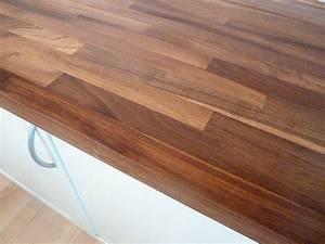 Arbeitsplatte kuchenarbeitsplatte massivholz for Nussbaum arbeitsplatte