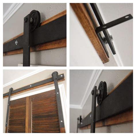 How To Build Barn Door Hardware by Diy Barn Door Hardware