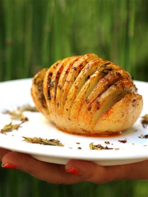 hasselback potatoes pommes de terre r 244 ties 224 la su 233 doise