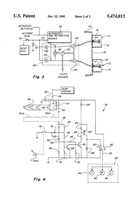 Patent Trim Tab Auto Retract Multiple