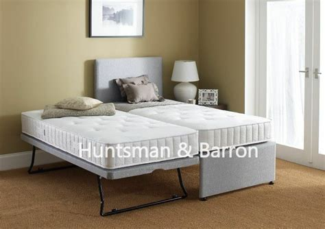 Guest Bed 3 In 1 With Under Bed Pull Out Bed With 2