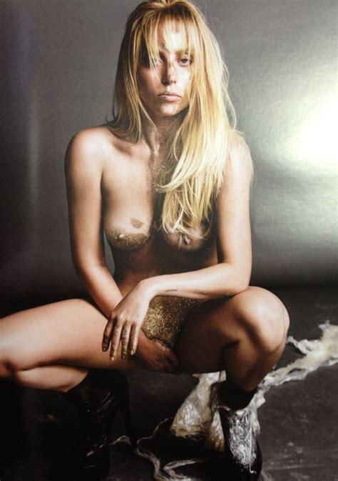 Lady Gaga Nude Pics Super Bowl Tribute Uncensored