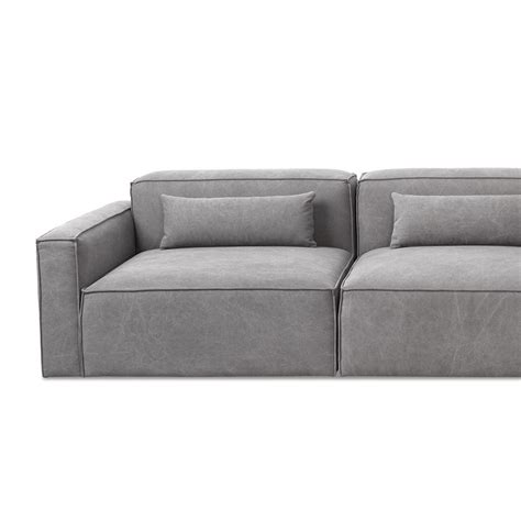 modern modular sectional puzzle gus modern mix modular sectional right arm piece gr