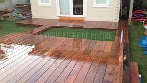 Bois Terrasse Piscine : aquaterra couverture de piscine amovible en bois transformable en terrasse youtube ~ Melissatoandfro.com Idées de Décoration