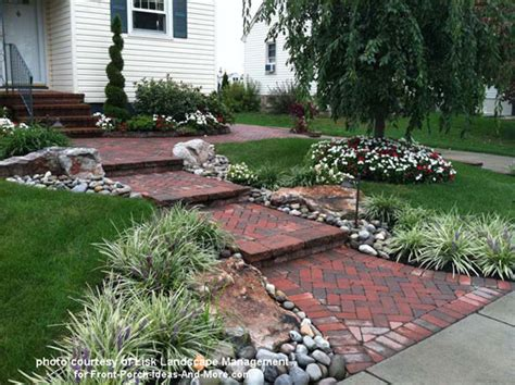 front walkway plant ideas front yard landscape designs with before and after pictures