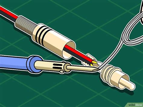 c 243 mo fabricar cables rca 11 pasos con wikihow