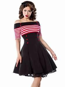 robe retro vintage pin up belsira vetements rockabilly With vêtements rockabilly femme