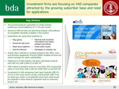 mobile vas companies investment firms are focusing on