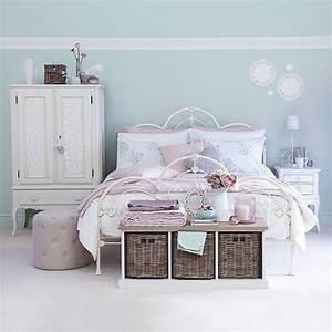 Schlafzimmer Französischer Stil : hellblau und rosa franz sisch stil schlafzimmer wohnideen living ideas wohnen pinterest ~ Sanjose-hotels-ca.com Haus und Dekorationen