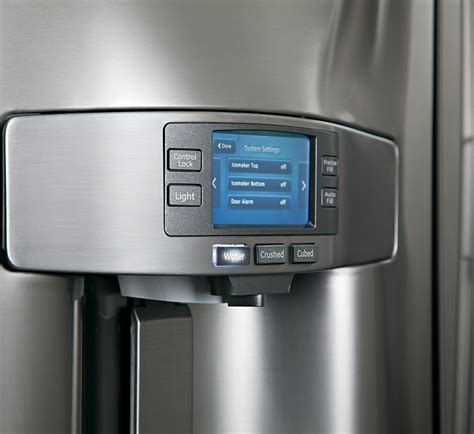 pyepshss ge profile series  cu ft counter depth french door refrigerator stainless steel