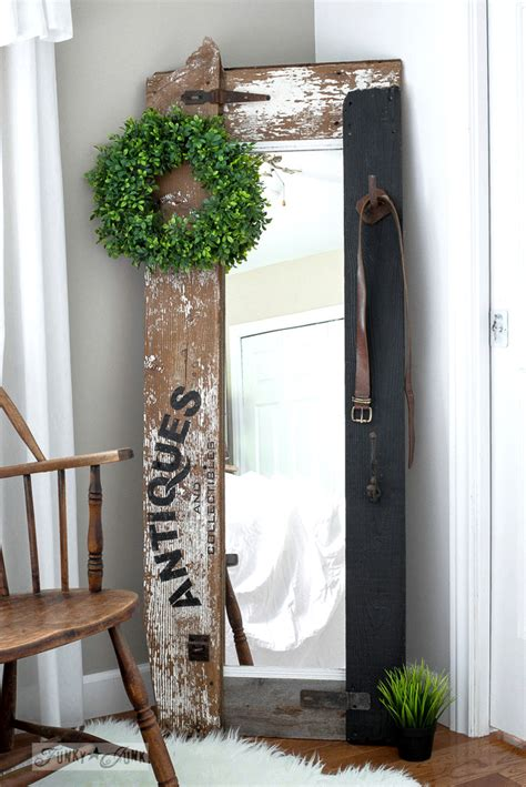 Reclaimed Wood Antiques Hall Tree