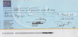 Chèque De Banque La Poste : comment remplir un ch que lcl comment remplir ~ Medecine-chirurgie-esthetiques.com Avis de Voitures