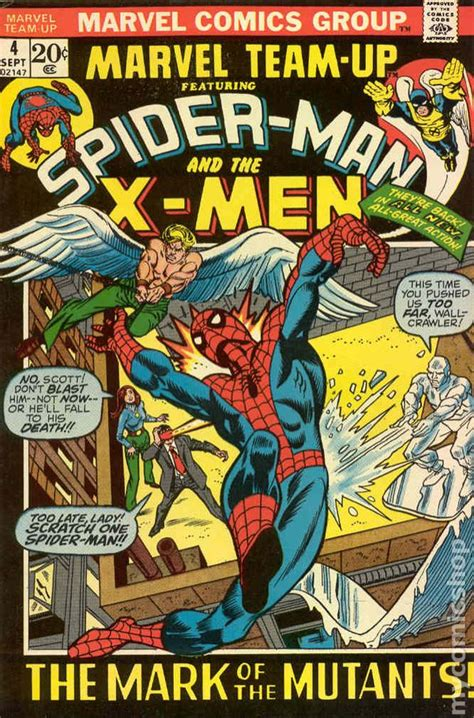marvel team comics issue series 1972 covers comic books vs 1st comicbookrealm spider gil kane scott value kolins robertson darick
