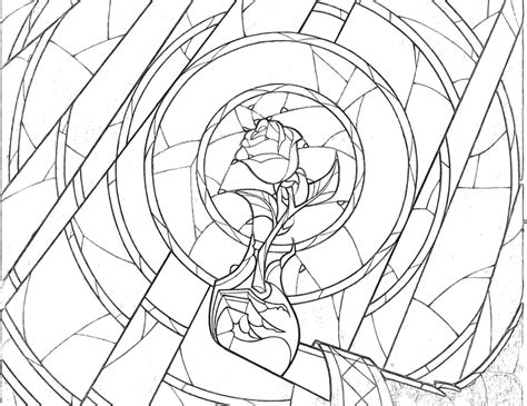 Beauty And The Beast Adult Coloring Pages This Fairy