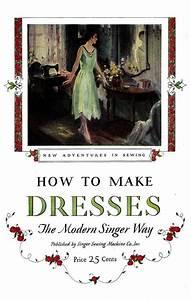 1927 Flapper Dress Making Book Singer Sewing Manual Frock