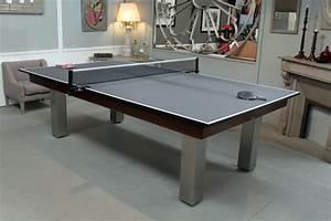 plateau ping pong pour billard billard toulet With billard et table a manger