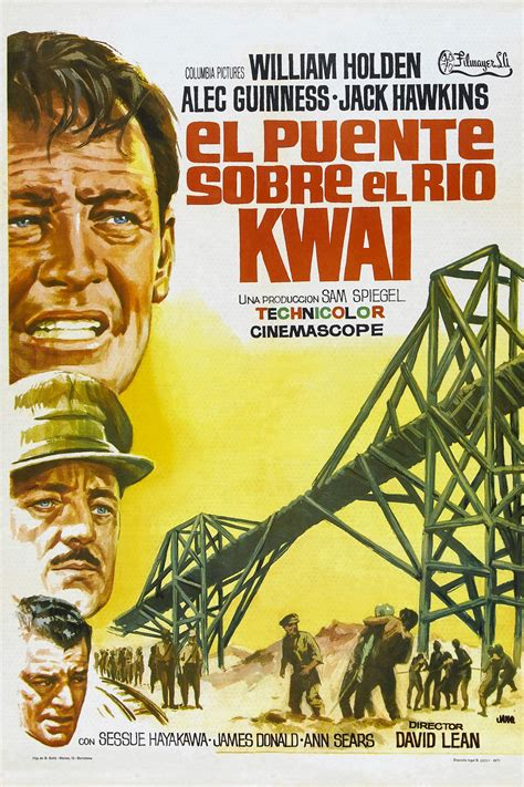 Reparto El puente sobre el Río Kwai - Equipo Técnico ...