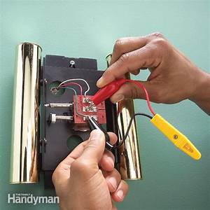 Repair A Doorbell  Fix A Dead Or Broken Doorbell