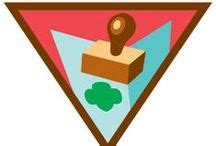 Print Your Own Badge Buddies Getting Started Brownie Scout Badges Browniefriends On