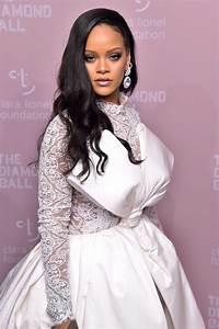 Rihanna At The 4th Annual Clara Lionel Foundation Diamond