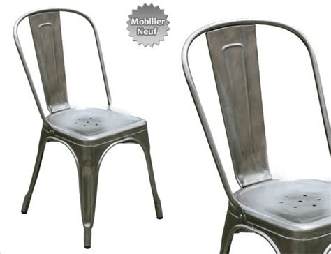 chaise métal industriel design industriel mobilier industriel meuble industriel
