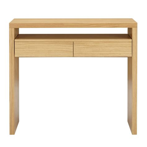 bureau pratique console contemporaine pratique 2 tiroirs blum drawer fr