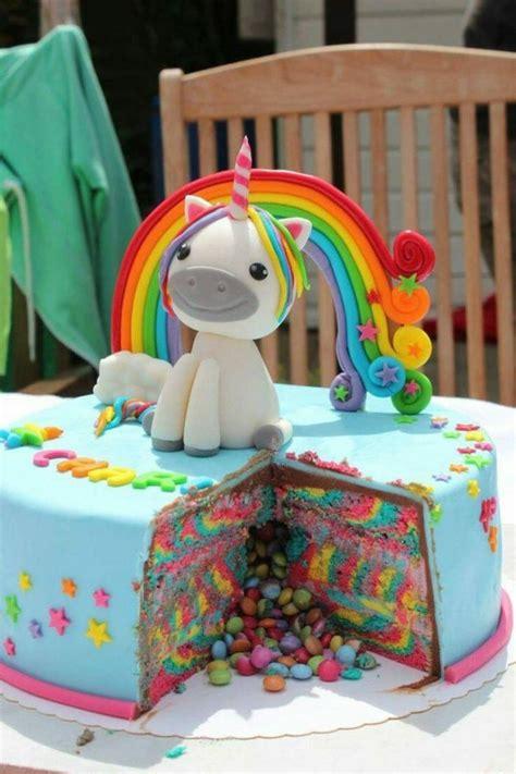 1001 id 233 es de g 226 teau licorne magique pour l anniversaire de votre enfant deco anniversaire