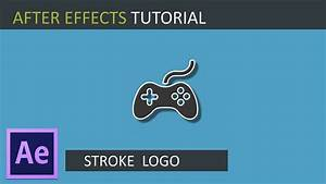 After effects tutorial:Stroke Logo Outline Reveal - YouTube