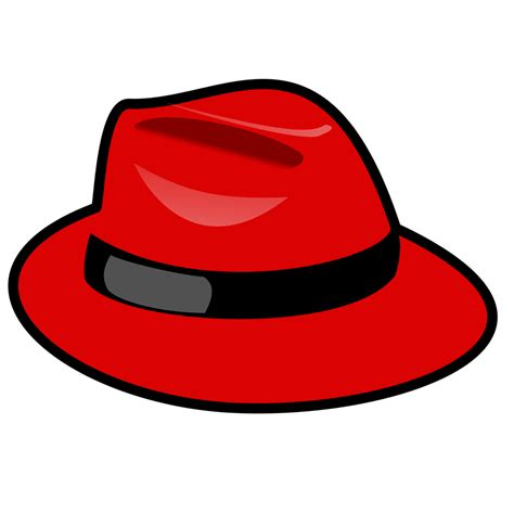 hat free stock photo illustration of a red cartoon hat 15576