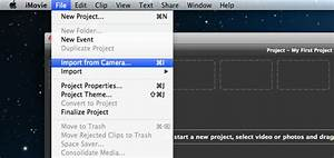 How To Import Video Files Or Projects To Imovie 8  9  11 On Mac