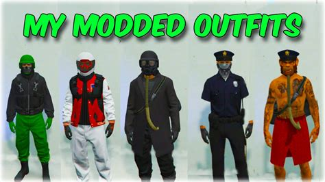 GTA 5 Online Glitch - MY DOPE MODDED OUTFITS SHOWCASE!! (GTA 5 Clothes Glitches) - YouTube