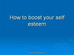 how to boost your self esteem authorstream With self esteem powerpoint templates