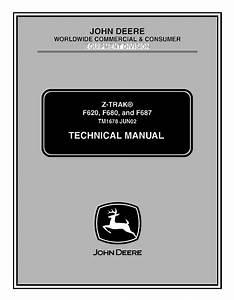 John Deere F620 F680 F687 Z