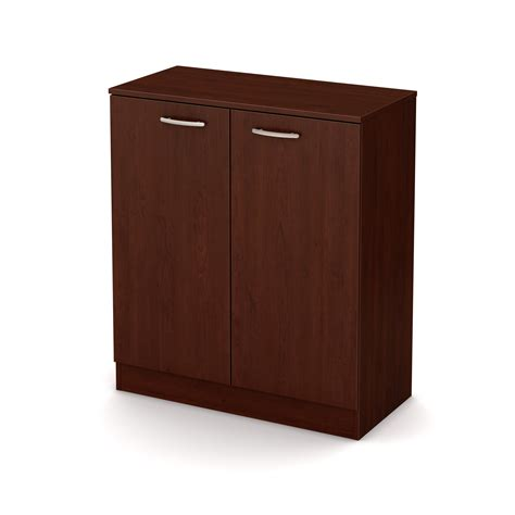 south shore storage cabinet royal cherry south shore axess 2 door storage cabinet royal cherry