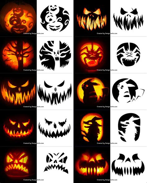Trick Or Treat Pumpkin Carving Templates Free by 290 Free Printable Halloween Pumpkin Carving Stencils