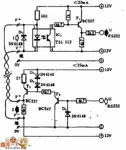 gt circuits gt the computer z rs 23 serial interface current With current in circuit