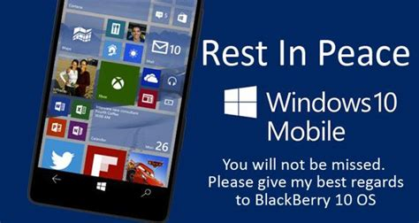 microsoft s windows 10 mobile os beyond support microsoft corporation nasdaq msft