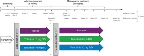 tofacitinib  induction  maintenance therapy  crohn