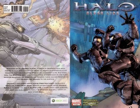 Halo Blood Line Tpb 1 Marvel