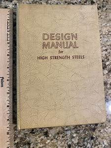 Design Manual For High Strength Steels