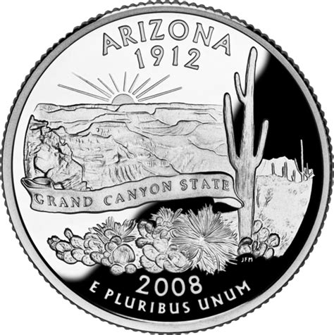 arizona state quarter statescom