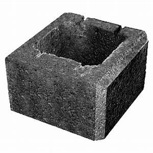 Mauersteine Beton Hohlkammersteine : ehl planomur mauerstein pfeilerstein anthrazit 32 5 x 32 5 x 20 cm beton bauhaus ~ Frokenaadalensverden.com Haus und Dekorationen