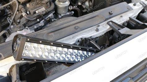 install the high power led light bar a 2016 up toyota tacoma
