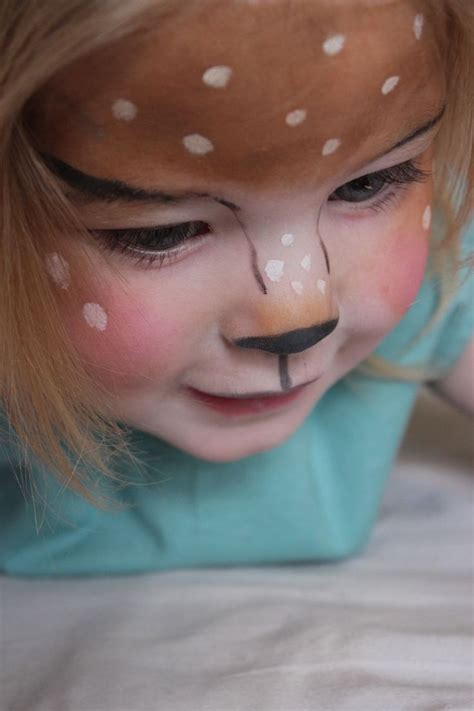 ideen fuers kinderschminken zum fasching mit anleitungen