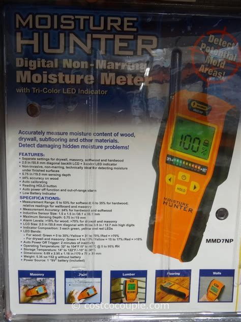 Mannix Infrared Thermometer and Moisture Detector