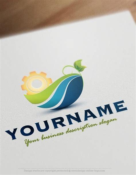 exclusive design industrial eco logo compatible