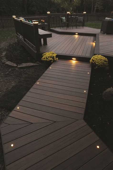 Home Depot Deck Rail Lighting by 25 Best Ideas About Deck Lighting On Patio