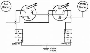 Marine Dual Battery Switch Wiring Diagram