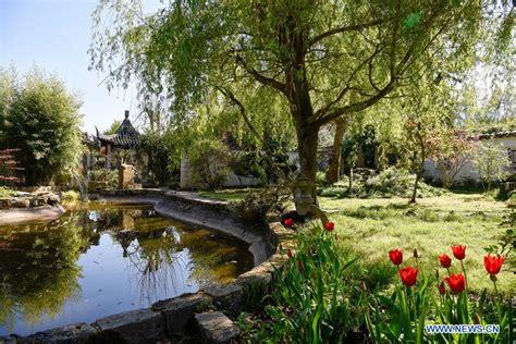 View Of Yili Garden In Paris, France Chinaorgcn